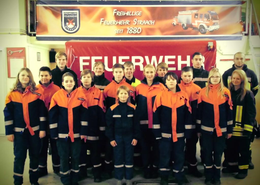 Gruppenbild Jugendfeuerwehr 2014